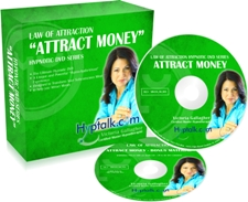 Law of Attraction to Attract Money Hypnosis DVD