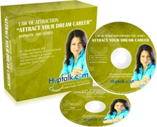 Law of Attraction to Attract Dream Career Hypnosis DVD