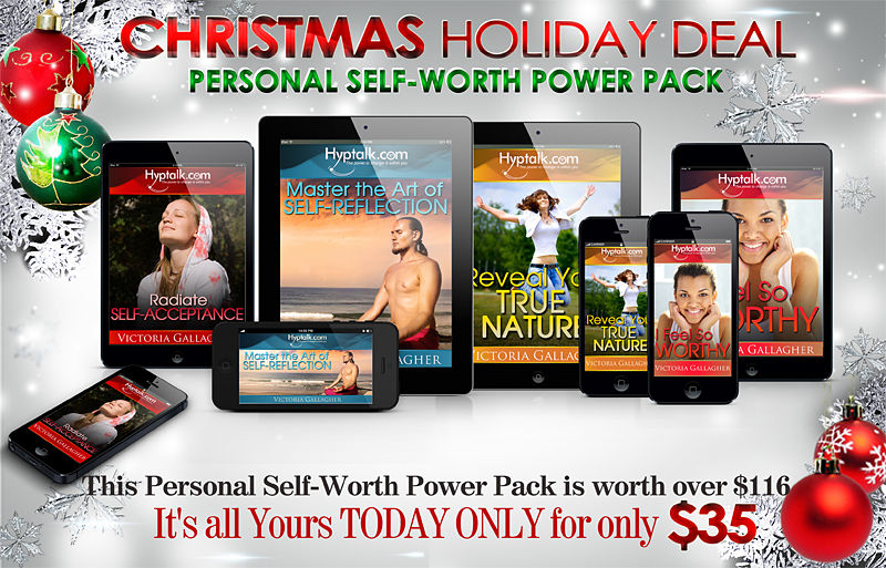 Christmas Holiday Deal - Personal Self-Worth Power Pack
