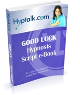 Good Luck Hypnosis Script eBook