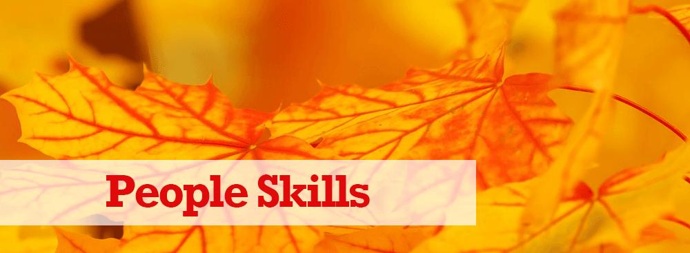 Communication/People Skills