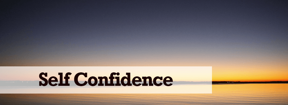 Self-Confidence/Self-Esteem