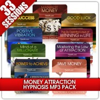 33 Hypnosis Money Attraction Sessions Hypnosis MP3s