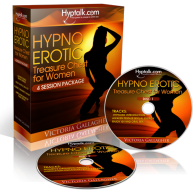 Hypnotic Erotic Treasure Chest Women CDs