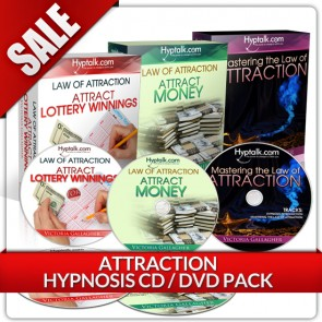Attraction Hypnosis CD DVD Bundle