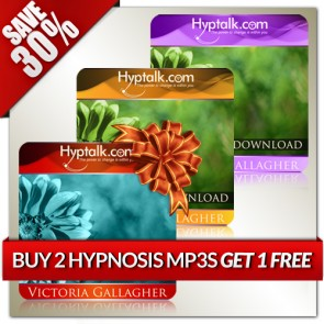 Buy 2 Hypnosis MP3s Get 1 Free