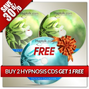 Buy 2 Hypnosis CDs Get 1 Free