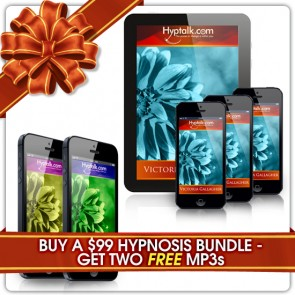 Buy a $99 Hypnosis MP3 Bundle - Get Two Free MP3's