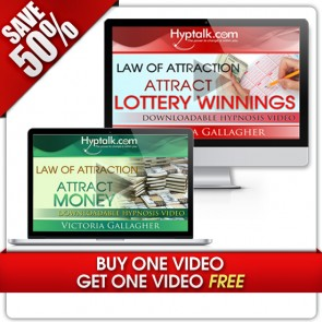 Buy ONE Hypnosis VIDEO  Get ONE FREE