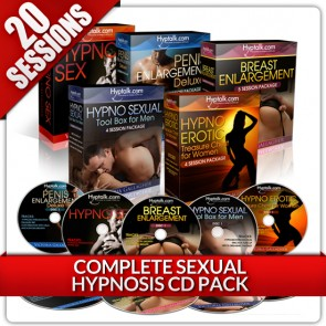Complete Sexual Hypnosis CD Bundle
