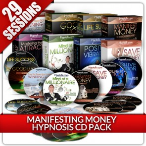 Manifesting Money Hypnosis CD Bundle