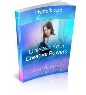Unleash Your Creative Powers Hypnosis Script eBook
